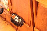 ゆうメール送料無料♪【代引・後払い・配達日時指定不可】むろの屋デザインモップハンディ木製ハンドル10P01Jun14【RCP】