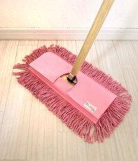 DM便送料無料♪【代引・配達日時指定不可】むろの屋デザインモップフロア市販のハンドルに簡単装着♪/掃除道具