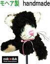 ゴルフヘッドカバー アイアンカバー アニマル 黒猫 モヘア製 丁寧な手作り 可愛いキャットのアイアンカバー 動物キャラクター おもしろ ゴルフカバー ゴルフヘッドカバー レディース ギフト プレゼント クリスマス・・・