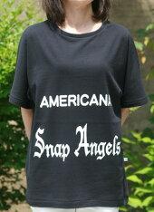 【Americana】Angels-T(ブラック)