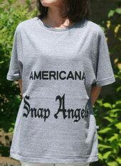 【Americana】Angels-T(グレー)