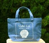 【MalieKai】マリエカイトートバッグ(オーシャンブルー)