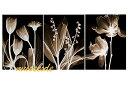 モダン アート 壁掛け印刷 ポスター フォトパネルインテリア 透明な花...