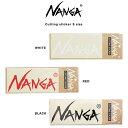 NANGA ナンガ 通販 NANGA CUTTING STICKER (SMALL)カッティン...