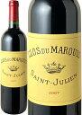 【送料無料】クロ・デュ・マルキ [2007] <赤> <ワイン/ボルドー>