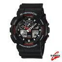 CASIO カシオ Gショック メンズ 腕時計 アナデジ GA-100-1A4 G-SHOCKCASIO カシオ Gショックメ...