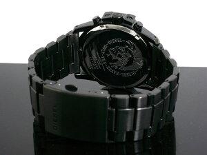DIESELディーゼルメンズ腕時計ブラック時計DZ4180