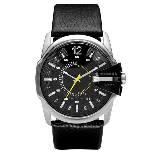 DIESEL ディーゼル メンズ 腕時計 時計 DZ1295 MASTER CHIEF マスターチーフ ブラッ...