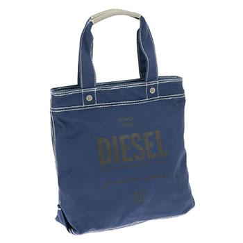 ディーゼル バッグ DIESEL トートバック X01856 PR578 T6031 ブルー