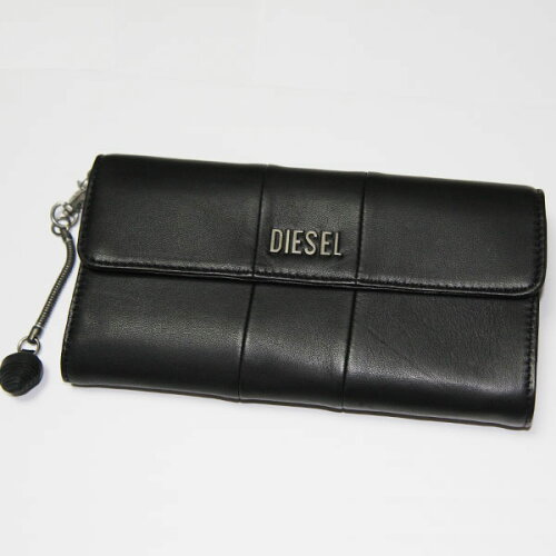DIESEL ディーゼル 長財布 ブラック X01606 PR472 H1145 財布 さいふ