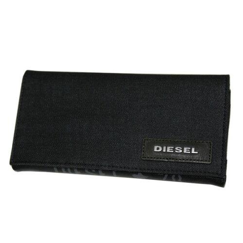 ディーゼル 財布 DIESEL 長財布 X02099 P0160 H4933 デニム さいふ