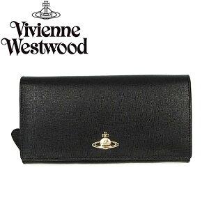 ヴィヴィアン 財布 長財布 ヴィヴィアンウエストウッド Vivienne Westwood 1032 SAFFIANO BLACK...