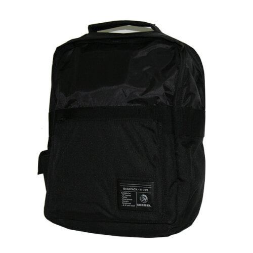 ディーゼル バッグ DIESEL リュックサック バックパック X02145 P0166 T8013 ブラック×カーキ 通...
