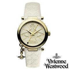 【レビューを書いて送料無料】 Vivienne Westwood ヴィヴィアン ウエストウッド レディース 腕時計 時計 ビビアン VV006WHWH オフホワイト ヴィヴィアン・ウエストウッド 【あす楽対応】【RCP】【プレゼント】【楽フェス_ポイント2倍】02P01Aug15