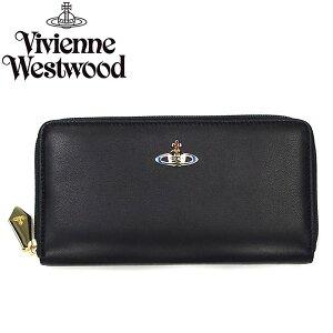 VivienneWestwoodヴィヴィアンウエストウッド長財布ラウンドファスナー5140NAPPANERO