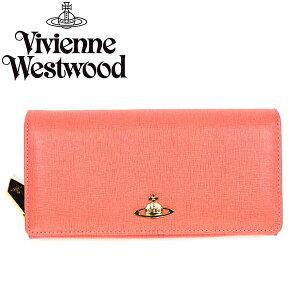 VivienneWestwoodヴィヴィアンウエストウッド長財布1032SAFFIANOSALMONE481574