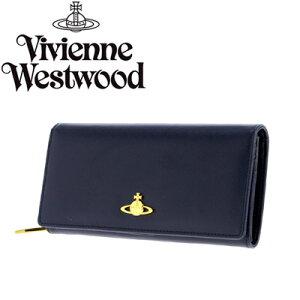 VivienneWestwoodヴィヴィアンウエストウッド長財布1032SAFFIANOBLU
