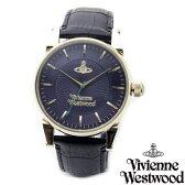 Vivienne Westwood ヴィヴィアン ウエストウッド メンズ 腕時計 時計 とけい ビビアン VV065NVBK ネイビー×ゴールド×ブラックレザー【あす楽対応】【送料無料】【RCP】【プレゼント】【セール】