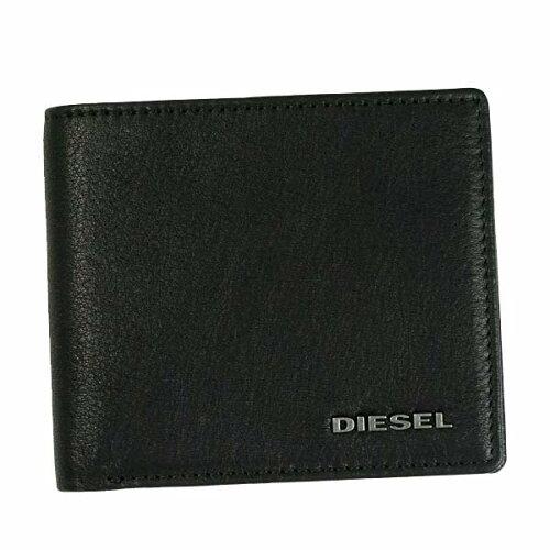 ディーゼル 財布 DIESEL 二つ折り財布 メンズ 本革 革 レザー X03363 PR013 H5239/ブラ...