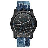 ディーゼル 時計 DIESEL 腕時計 DZ1748 メンズ ブラック×デニムベルト リグ RIG とけい ウォッチ 【あす楽対応】【送料無料】【RCP】【プレゼント】