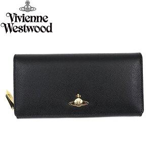 VivienneWestwoodヴィヴィアンウエストウッド長財布1032SAFFIANOBLACK