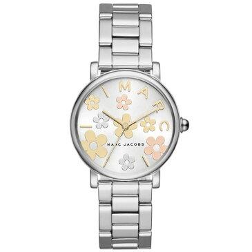【送料無料】マークジェイコブス 時計 MARC JACOBS 腕時計 レディース MJ3579 Classic 36 ホワイト×シルバー×マルチカラー お花 花 フラワー【あす楽対応】【RCP】【プレゼント】【ブランド】【セール】