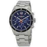 【送料無料】COACH コーチ メンズ 腕時計 時計 14602032 Sullivan サリヴァン ネイビー×シルバー こーち とけい 【あす楽対応】【RCP】【プレゼント】【ブランド】【ラッキーシール対応】【セール】