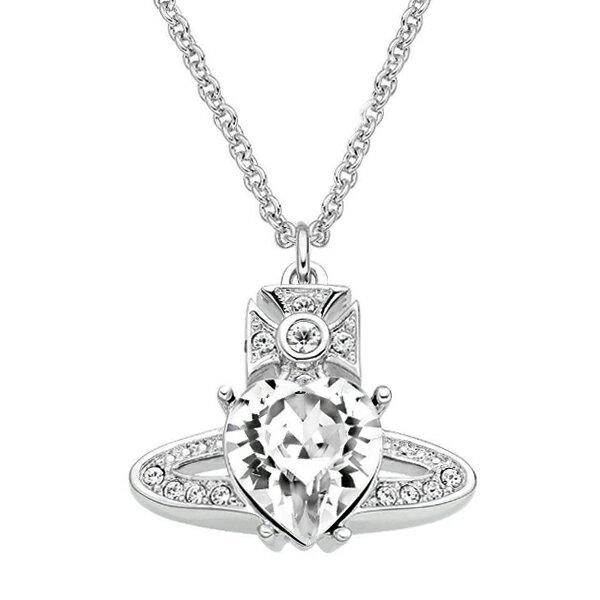 レディースジュエリー・アクセサリー, ネックレス・ペンダント  Vivienne Westwood 63020047-W110 ARIELLA PENDANT RHODIUM Crystal