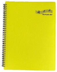楽譜ファイル30ポケットA460ページバンドファイルFilePLUS+Doリング式ファイルから出さずに書き込みOK
