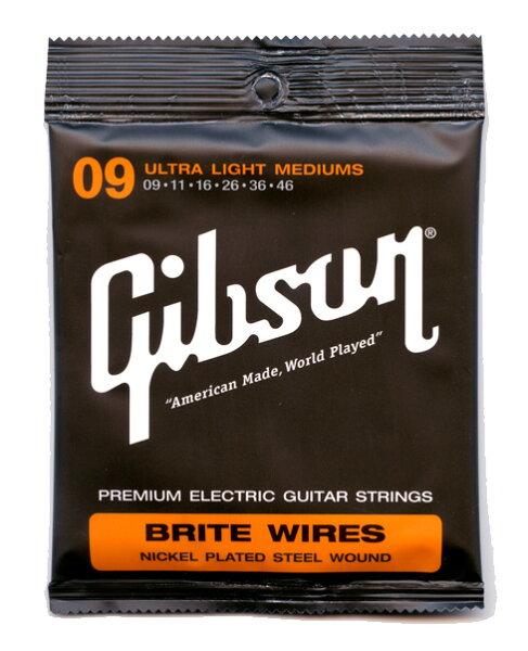GibsonSEG-700ULMCウルトラライトミディアムを1setエレキギター弦