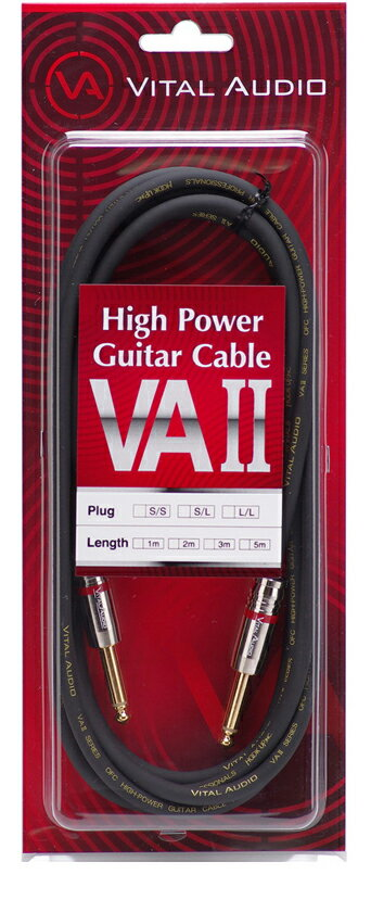 ケーブル, シールドケーブル Vital Audio VAII (High Power Guitar Cable)VA-1.0m SS