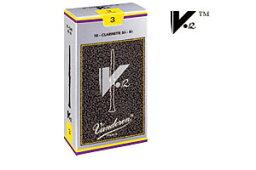 Vandoren Bbクラリネット用V.12 10枚入り バンドーレン リード 2.5 (CR1925)