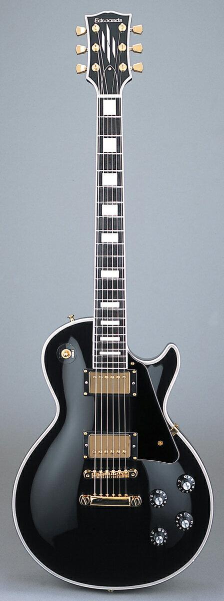 ギター, エレキギター Edwards E-LP-130CD BK Black
