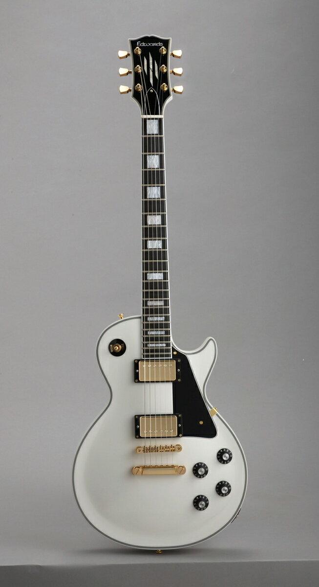 ギター, エレキギター Edwards E-LP-130CD SW White