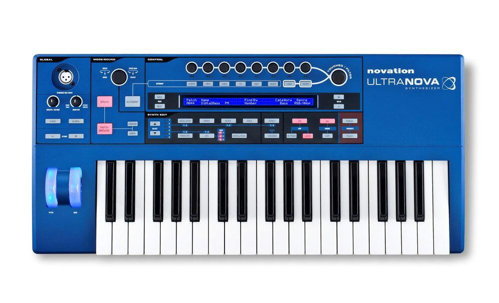 DAW・DTM・レコーダー, MIDIキーボード novation UltraNova