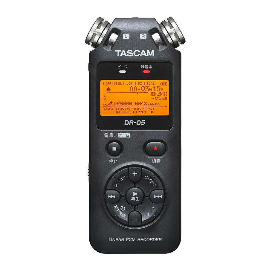 DAW・DTM・レコーダー, ポータブルレコーダー・フィールドレコーダー TASCAM DR-05 VER3 PCM