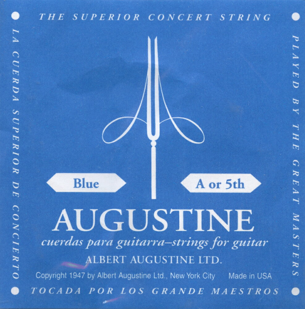 ギター用アクセサリー・パーツ, クラシックギター弦 Augustine BLUE 52