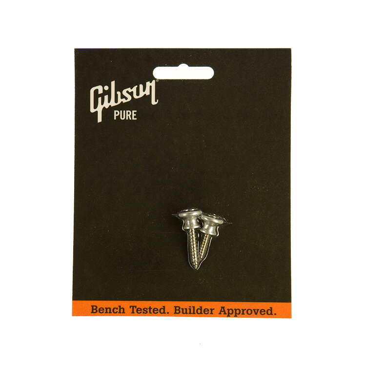 ギター用アクセサリー・パーツ, その他 Gibson STRAP BUTTONS (2) ALUMI. PREP-020