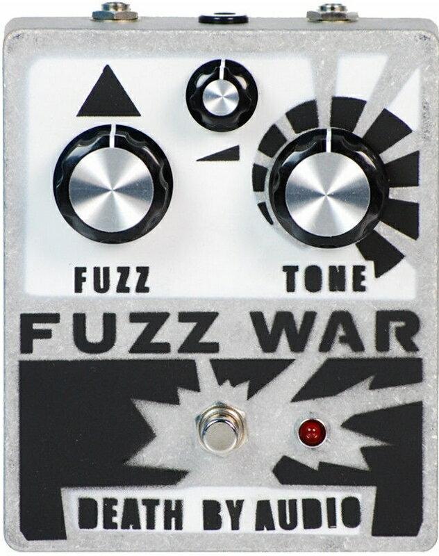 Death By Audio Fuzz War Ver.2 [並行輸入品][直輸入品]【デスバイオーディオ】【ファズ】【新品】