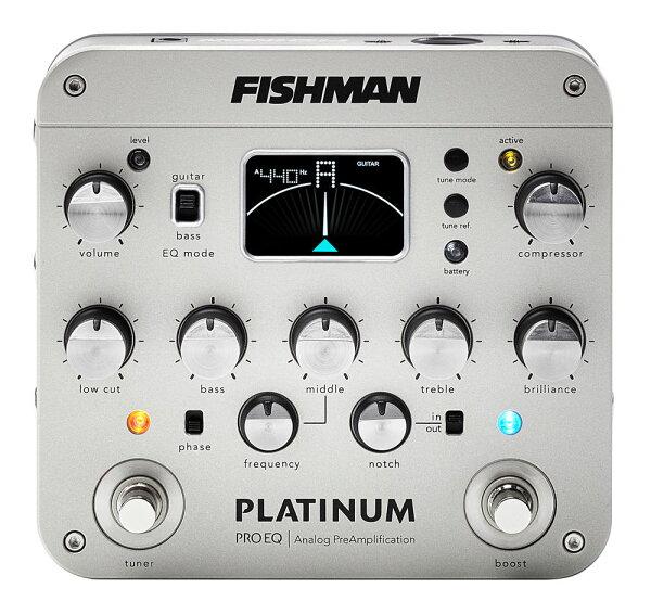 FishmanPlatinumProEQ 並行輸入品  直輸入品  フィッシュマン  PRO-EQ  プリアンプ  新品