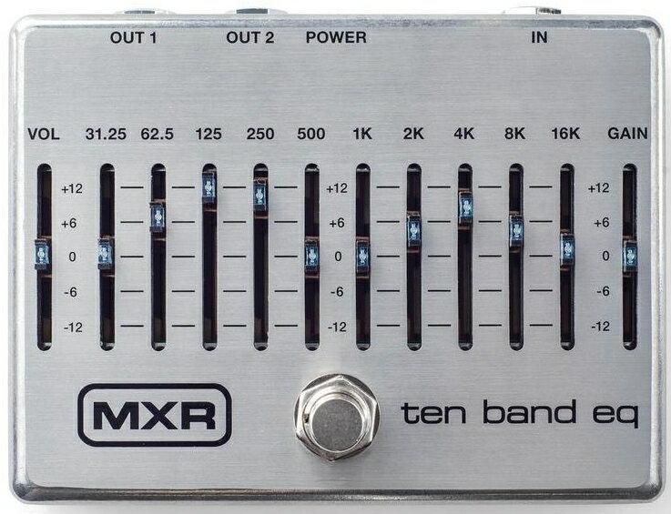 ギター用アクセサリー・パーツ, エフェクター GETMXR M108S 10 Band Graphic EQ RCP