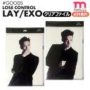★送料無料★ 【即日発送】【 EXO LAY クリアファイル LOSE CONTROL ver.】   SMTOWN 公式グッズ、EXO レイ ソロ 公式グッズ