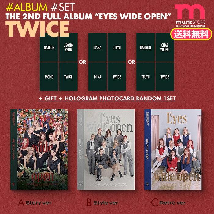 韓国(K-POP)・アジア, 韓国(K-POP) WithDRAMA TWICE 2 Eyes wide open 3 ()1 THE 2ND FULL ALBUM