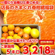 【送料無料】【訳あり】個性豊かな果汁たっぷり♪5種類以上の柑橘が楽しめる店長のきまぐれ春の柑橘福袋 たっぷり5kg【北海道・沖縄・一部離島は別途300円】