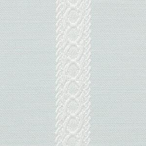 リボンテープ調ジャガードカーテン(ブルー・幅100cm×丈140~158cm・2枚組)姫系かわいい可愛いカワイイ姫系家具プリンセス姫インテリアロマンティックお姫様おしゃれ【オーダー・直送】