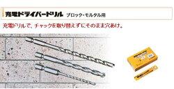 【充電ドライバードリル】4.3mmR043ミヤナガ