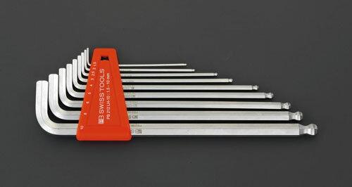 締付工具, レンチ・スパナ (ESCO) 1.5-8.0mm8 Hexagon EA573LA-80