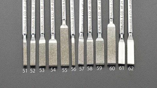 研磨工具, ヤスリ (ESCO) 5.2x2.3x50mm (200) EA826VM-60