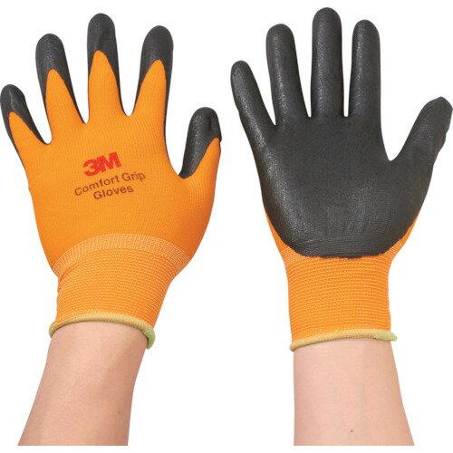 3M 一般作業用コンフォートグリップグローブ オレンジ Mサイズ 1双 GLOVE ORA M
