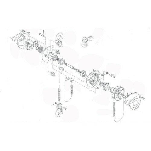 DIY・工具, その他 KITO() M3 C3BA020-90411